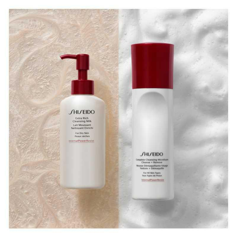 Shiseido Generic Skincare Complete Cleansing Micro Foam makeup