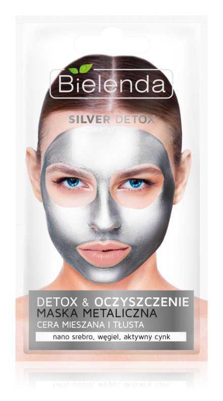 Bielenda Metallic Masks Silver Detox