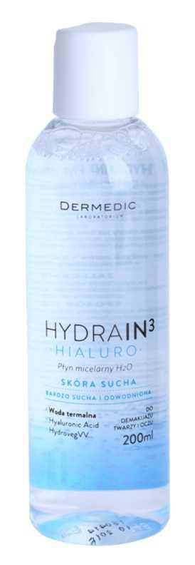 Dermedic Hydrain3 Hialuro makeup removal and cleansing