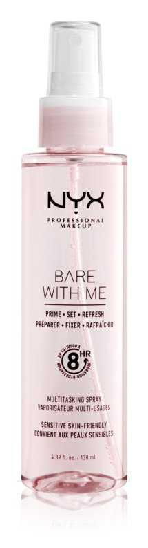 NYX Professional Makeup Bare With Me Prime-Set-Refresh Multitasking Spray toning and relief