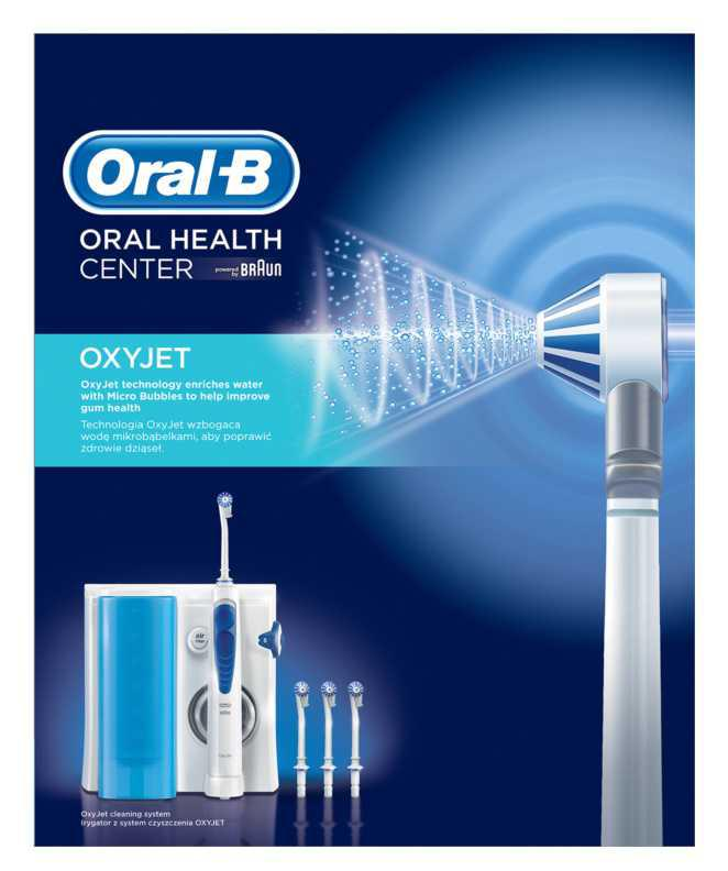 Oral B Oxyjet MD20 interdental spaces