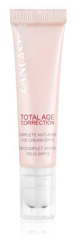 Lancaster Total Age Correction skin care around the eyes