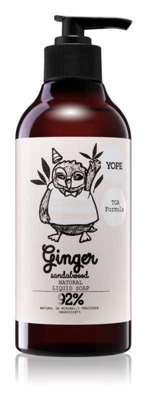 Yope Ginger & Sandalwood