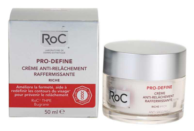 RoC Pro-Define dry skin care