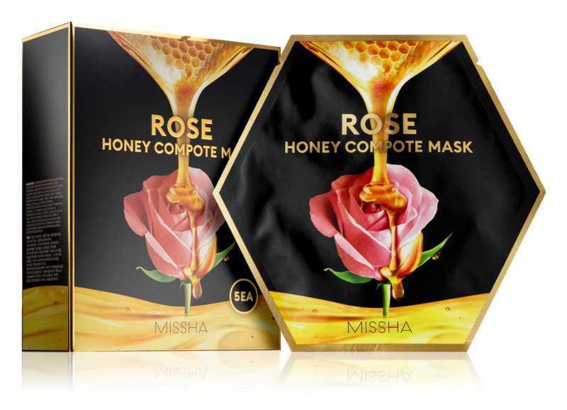 Missha Honey Compote Mask Rose