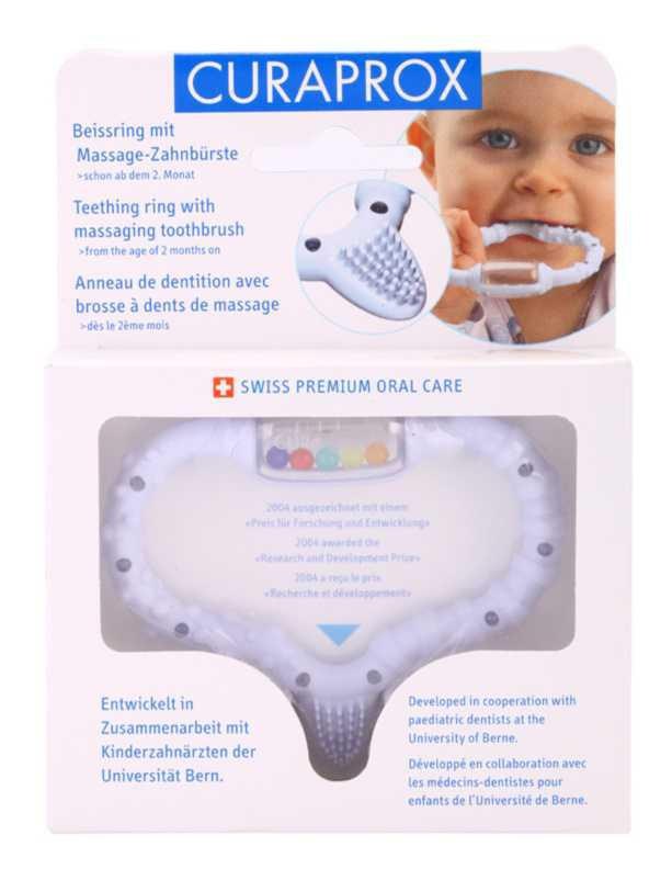 Curaprox Curababy teeth cleaning accessories