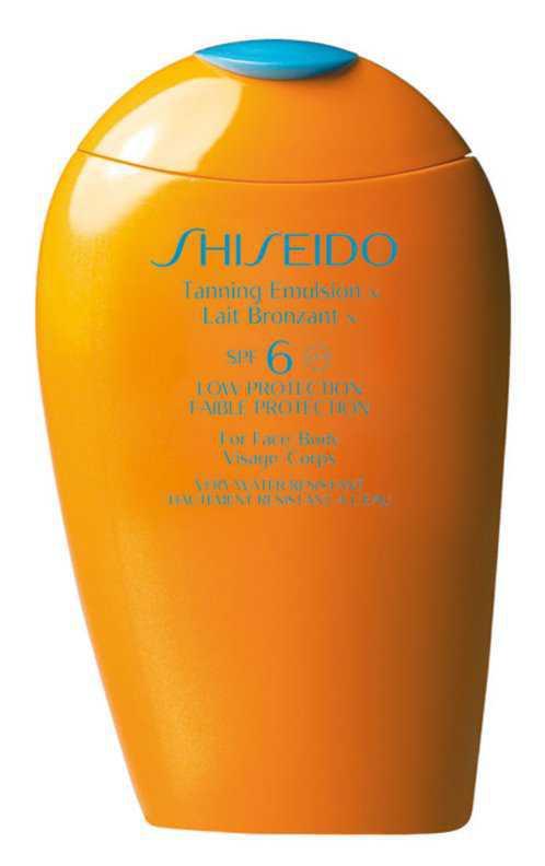 Shiseido Sun Care Tanning Emulsion