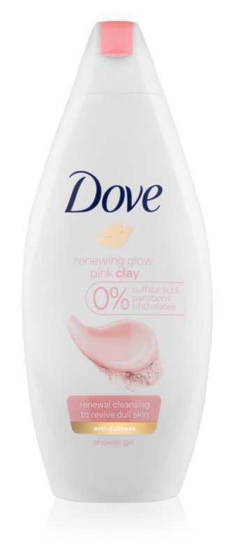 Dove Renewing Glow Pink Clay body
