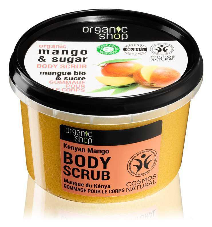 Organic Shop Body Scrub Mango & Sugar body