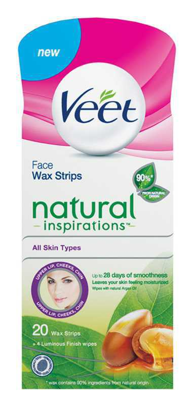 Veet Wax Strips Natural Inspirations™