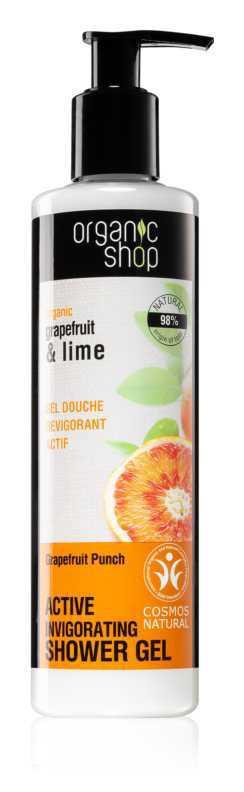 Organic Shop Organic Grapefruit & Lime