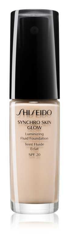 Shiseido Synchro Skin Glow Luminizing Fluid Foundation foundation