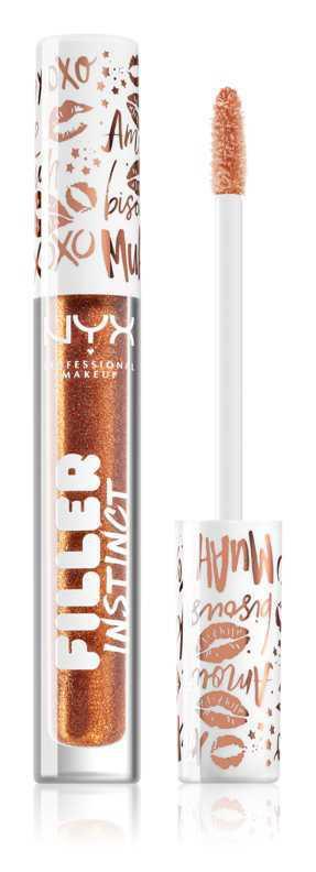 NYX Professional Makeup Filler Instinct Plumping Lip Polish makeup