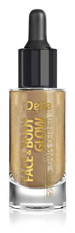 Delia Cosmetics Face & Body Glow Shape Defined