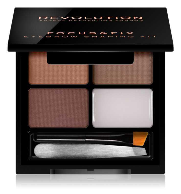 Makeup Revolution Focus & Fix eyebrows