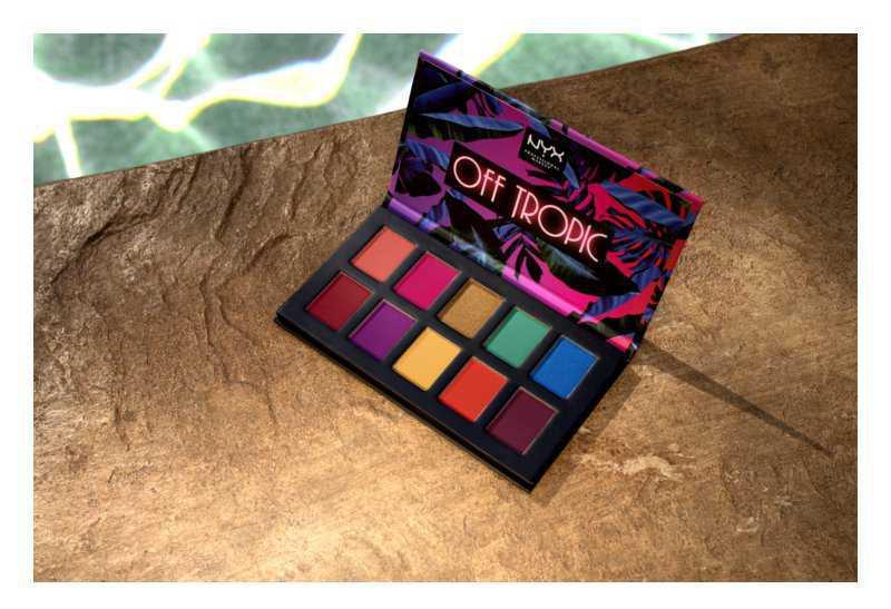 NYX Professional Makeup Off Tropic eyeshadow