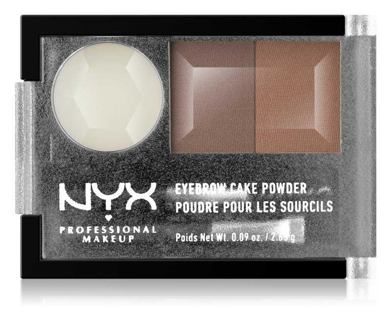 NYX Professional Makeup Eyebrow Cake Powder eyebrows