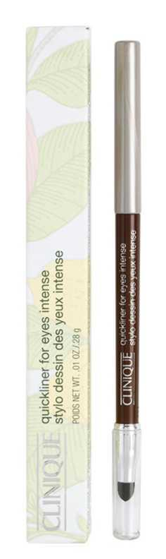 Clinique Quickliner for Eyes Intense makeup