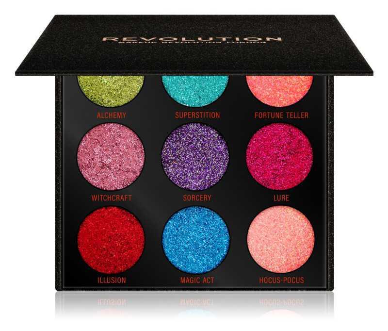 Makeup Revolution Pressed Glitter Palette makeup palettes