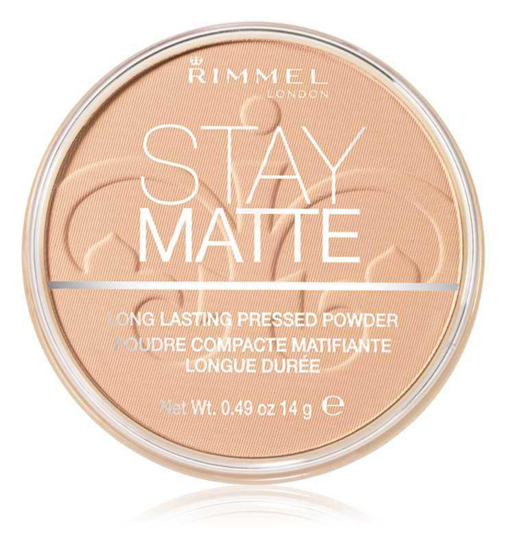 Rimmel Stay Matte makeup