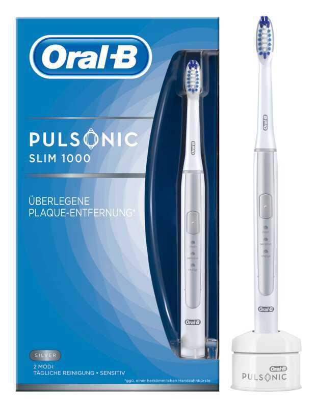 Oral B Pulsonic Slim One 1000 Silver