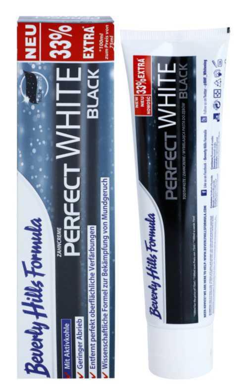 Beverly Hills Formula Perfect White Black teeth whitening