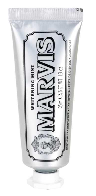 Marvis Whitening Mint teeth whitening