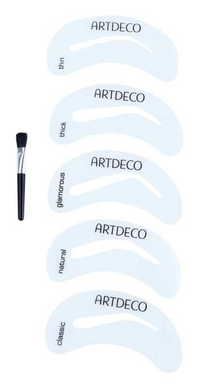 Artdeco Eye Brow Stencil with Brush Applicator