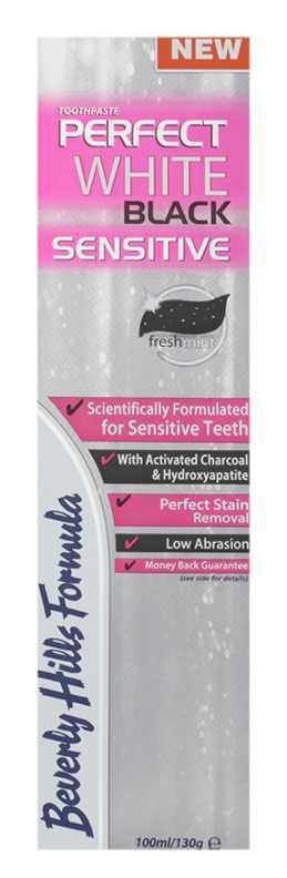Beverly Hills Formula Perfect White Black Sensitive teeth whitening