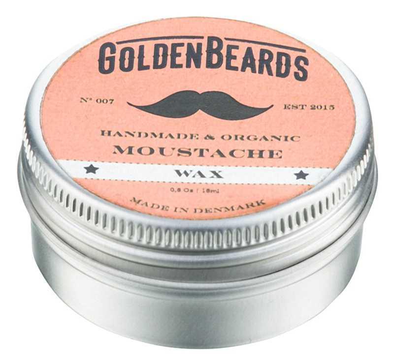 Golden Beards Moustache