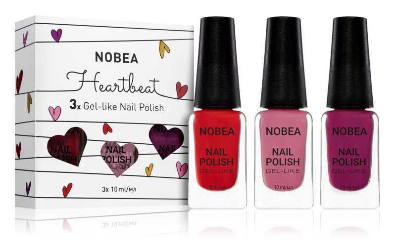 NOBEA Heartbeat nails