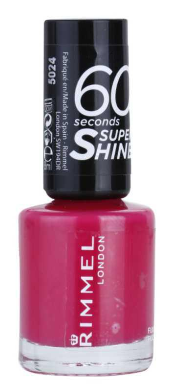Rimmel 60 Seconds Super Shine nails