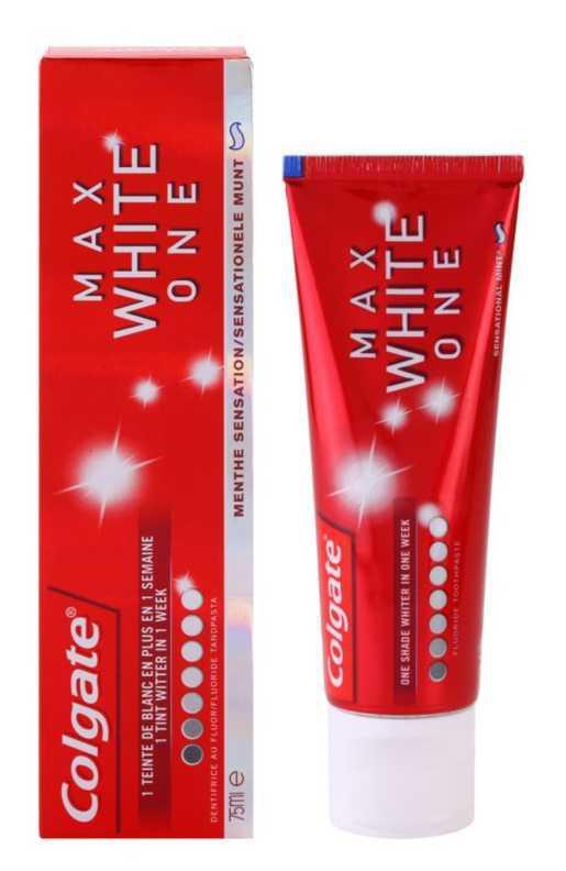 Colgate Max White One teeth whitening