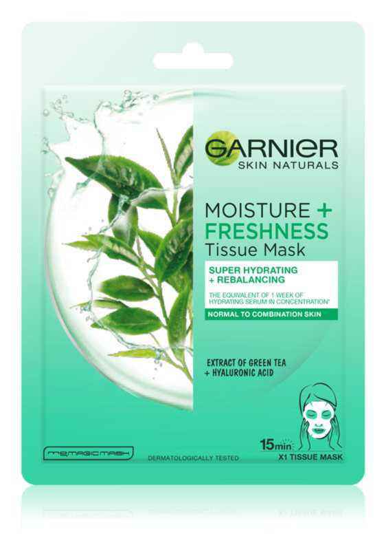 Garnier Skin Naturals Moisture+Freshness face care routine