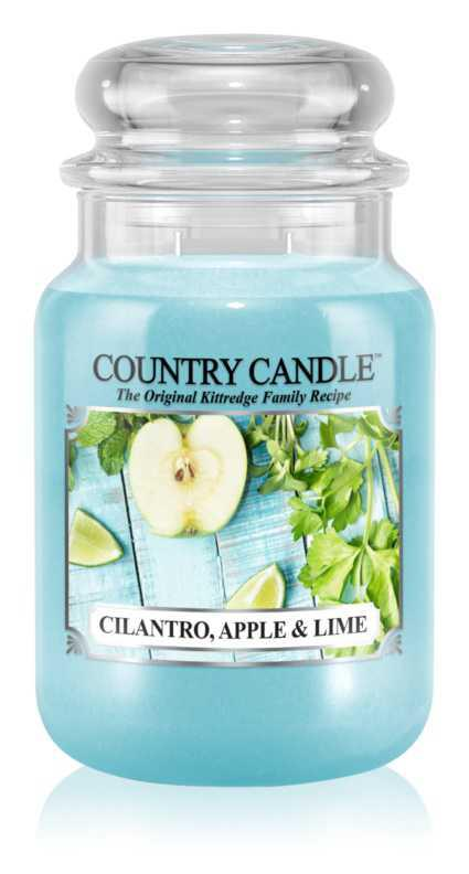Country Candle Cilantro, Apple & Lime