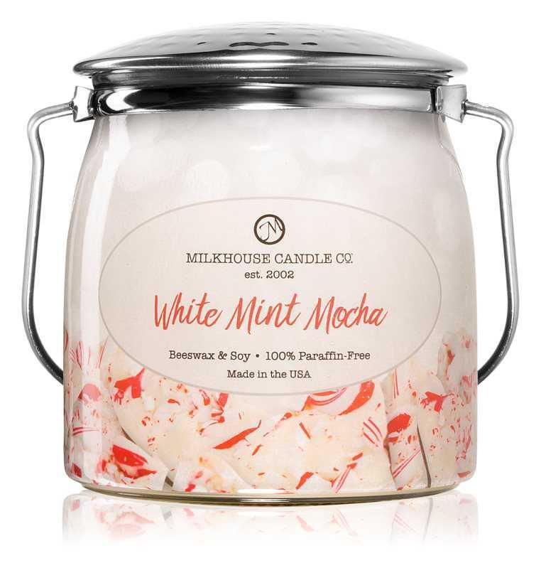 Milkhouse Candle Co. Creamery White Mint Mocha