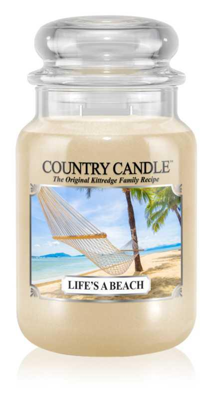 Country Candle Life's a Beach