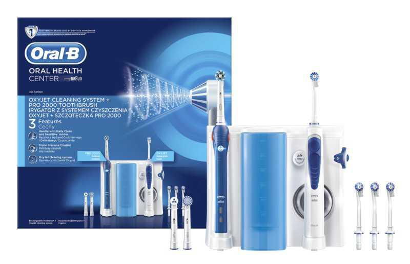 Oral B Oxyjet + PRO 2000