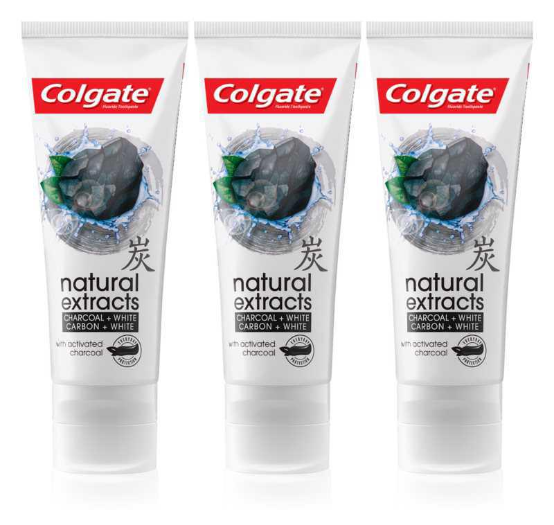 Colgate Natural Extracts Charcoal + White