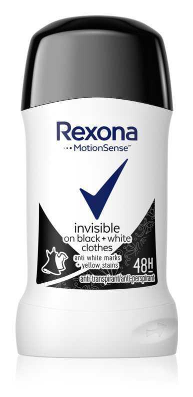 Rexona Invisible on Black + White Clothes