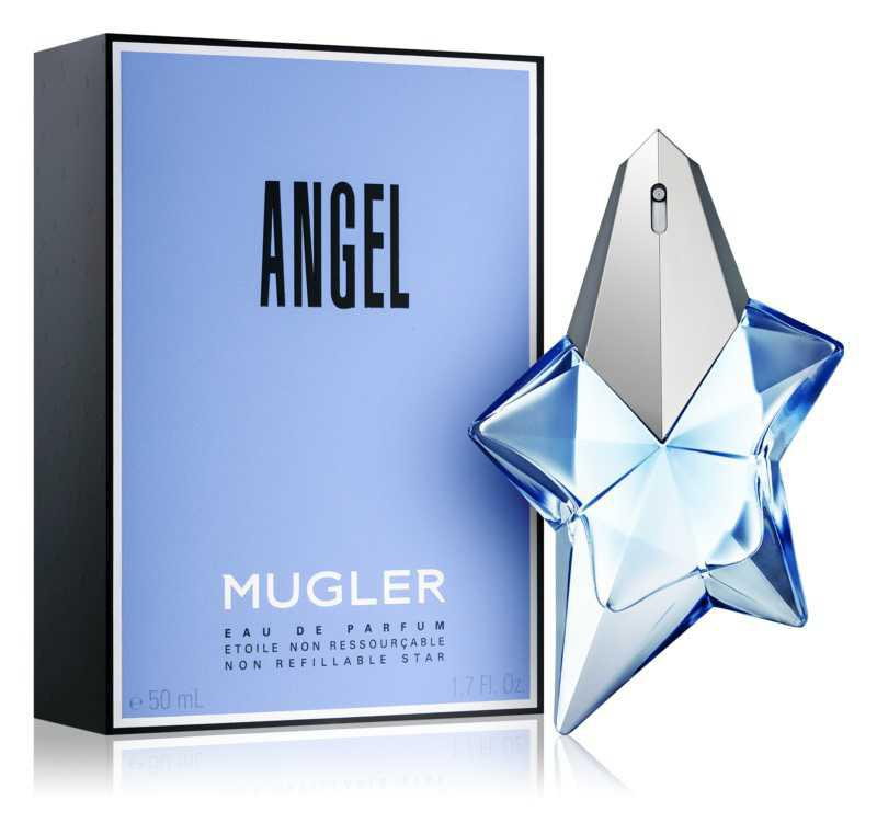 Mugler Angel patchouli fragrance