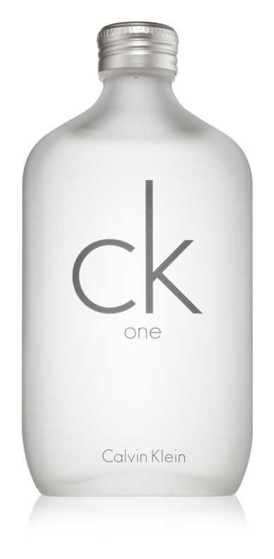 Calvin Klein CK One luxury cosmetics and perfumes