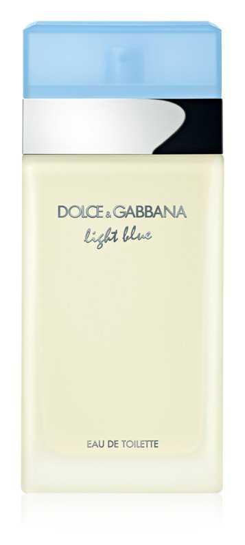 Dolce & Gabbana Light Blue women's perfumes