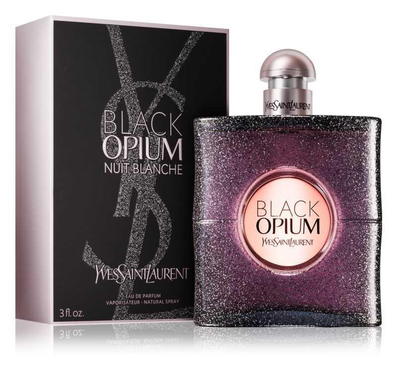 Yves Saint Laurent Black Opium Nuit Blanche women's perfumes