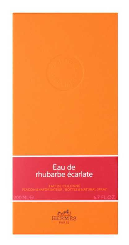 Hermès Eau de Rhubarbe Écarlate women's perfumes