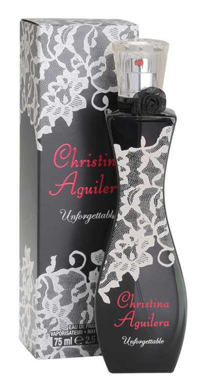 Christina Aguilera Unforgettable floral