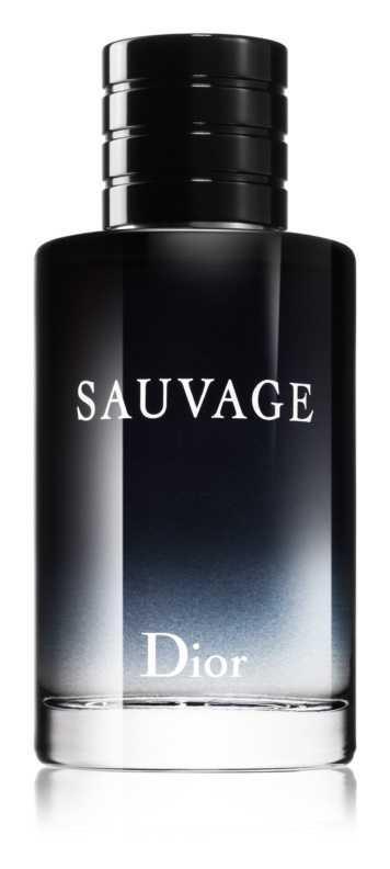 Dior Sauvage luxury cosmetics and perfumes