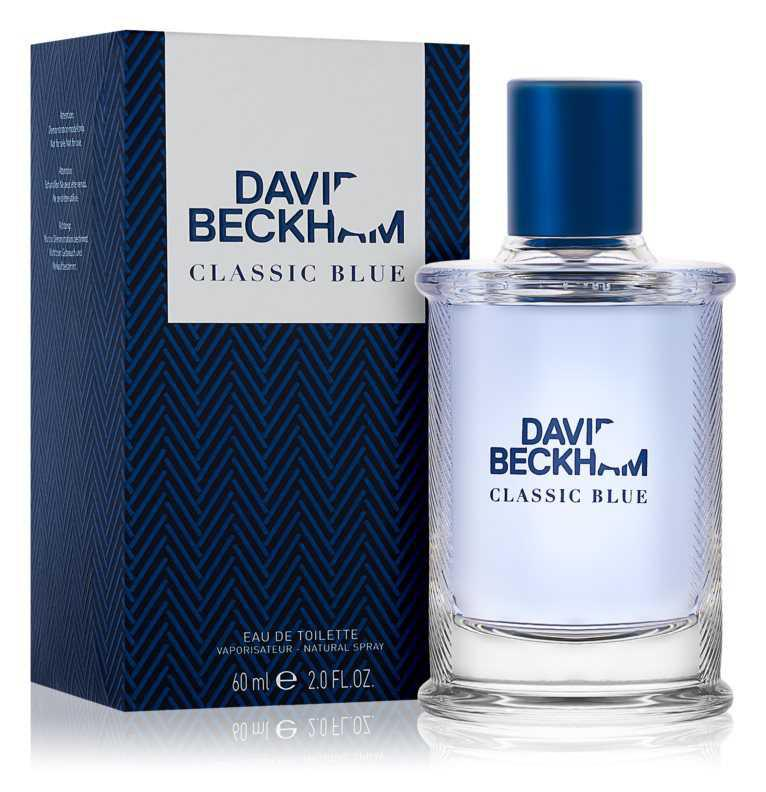 David Beckham Classic Blue woody perfumes