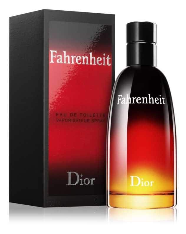 Dior Fahrenheit woody perfumes