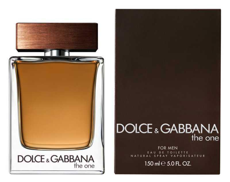 Dolce & Gabbana The One for Men luxury cosmetics and perfumes